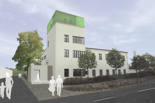 Vision Stadtteilzentrum im ehemaligen Towergebäude (Stand Rahmenplan)