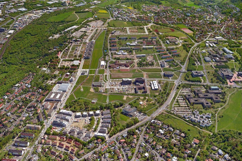 Luftbilder Hubland