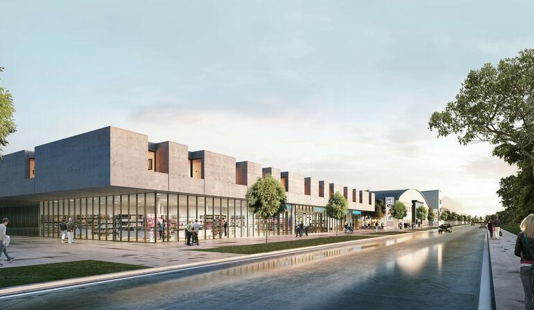 Nahversorgungszentrum Hubland; Bauherr: Hubland Center GmbH & Co.KG, Bocholt;