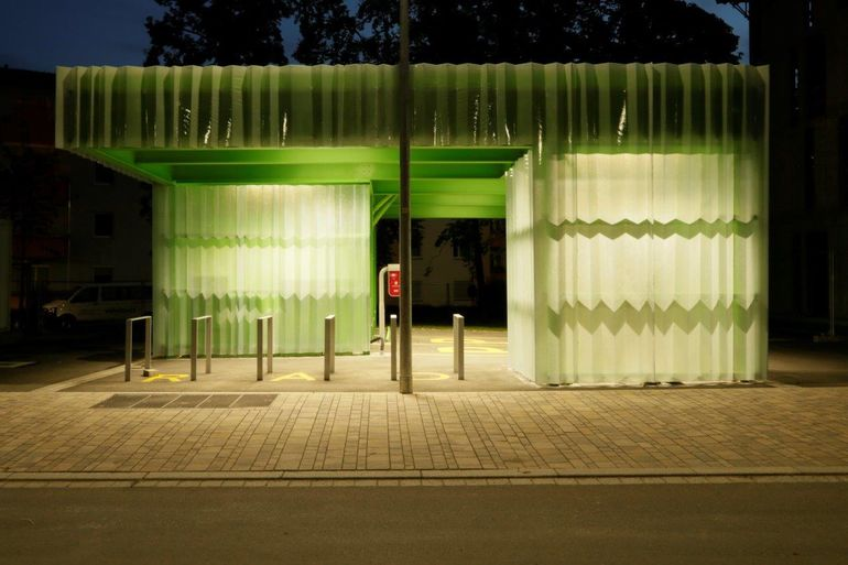 Foto: Mobilstation 1 (c) Deffner Voitländer Architekten