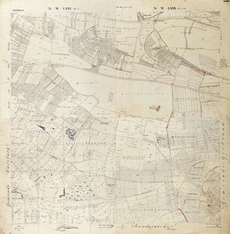 Uraufnahme von 1832