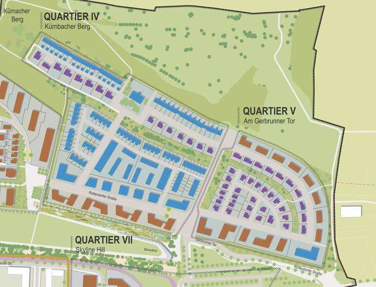 Vermarktungsplan Quartiere IV und V